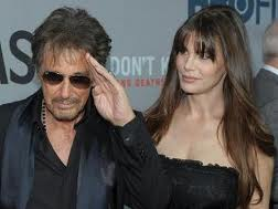 Al Pacino and girlfriend