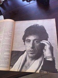 Al Pacino Rolling Stone #414
